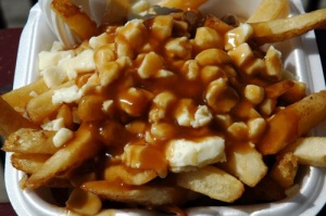 Poutine, food of the gods.