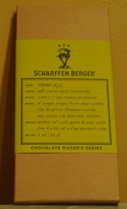 Sharffen Berger Tome Acu 68% cacao
