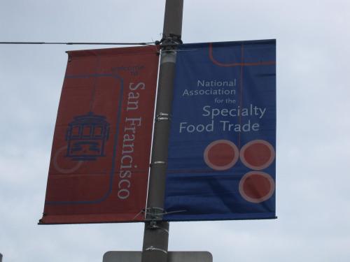 NASFT San Francisco - street sign