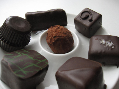 Mountain Nugget Chocolate Company - assortment of chocolates