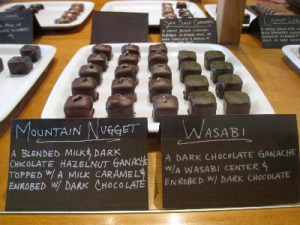 Mountain Nugget Chocolate Company: Wasabi!