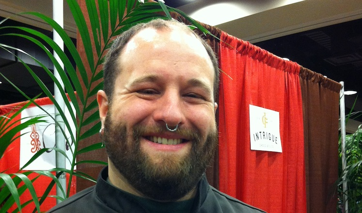 Aaron Barthel of Intrigue Chocolate (cropped)