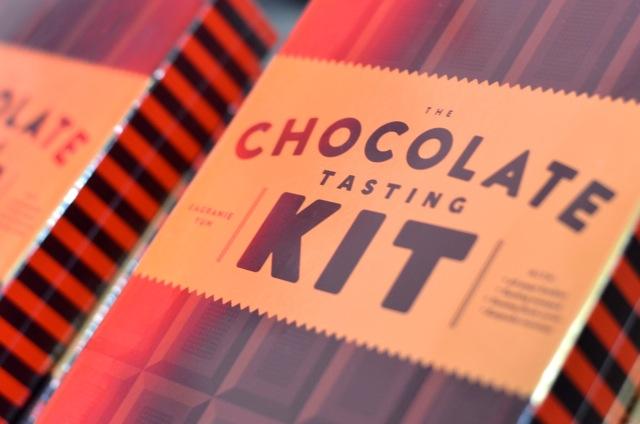 The Chocolate Tasting Kit, by Eagranie Yuh