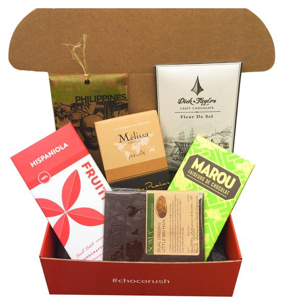 Eagranie Yuh curated craft chocolate box for Choco Rush